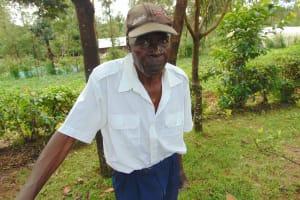 The Water Project: Mukangu Community, Metah Spring -  Mr Aggrey Lusimba