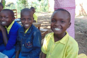 The Water Project:  Pupils Proudly Show Off Their Teeth During Dental Hygiene Session