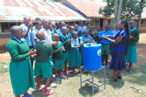 The Water Project: Bumbo Primary School -  Handwashing Training