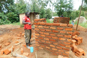 The Water Project: Hobunaka Primary School -  Building A Corner