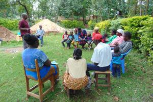 The Water Project: Mukangu Community, Metah Spring -  Mr Lusimbas Son Speaks