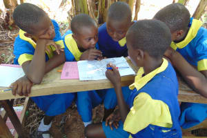 The Water Project:  Students In Group Discussions