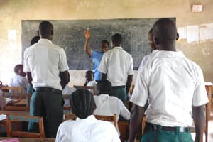 The Water Project: Sawawa Secondary School -  Facilitator Oversees Election Of Health Club Leaders