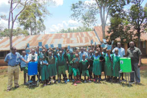 The Water Project: Bumbo Primary School -  Students Celebrate End Of Training