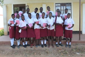 The Water Project: Friends School Ikoli Secondary -  Smiles After Completing Training