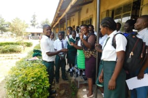 The Water Project: Sawawa Secondary School -  Training On Dental Hygiene