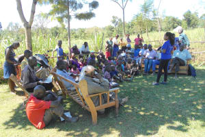 The Water Project: Kalenda A Community, Webo Simali Spring -  Training