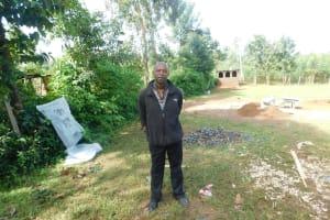 The Water Project: Khwihondwe SA Primary School -  Principal Bernad Rafimbi