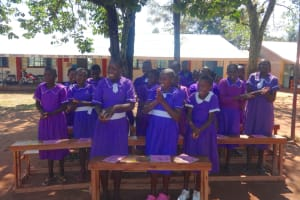 The Water Project: Chiliva Primary School -  Smiles While Learning Handwashing
