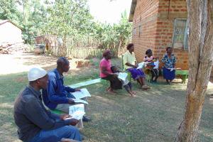 The Water Project: Mwichina Community, Matanyi Spring -  Participants