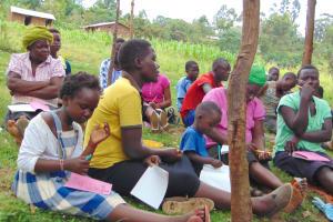 The Water Project: Maondo Community, Ambundo Spring -  Participants