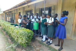 The Water Project: Sawawa Secondary School -  Handwashing Demonstration