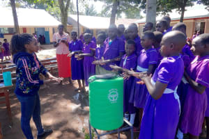 The Water Project: Chiliva Primary School -  Handwashing Steps