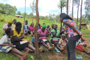 The Water Project: Maondo Community, Ambundo Spring -  Listening To A Response