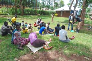 The Water Project: Imusutsu Community, Ikosangwa Spring -  Samuel Handwashing