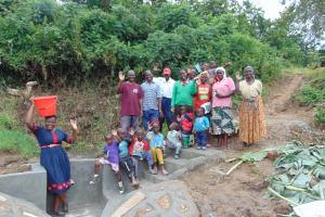 The Water Project: Mukangu Community, Metah Spring -  Training Complete
