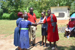The Water Project: Khwihondwe SA Primary School -  Handing Over Session