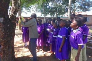 The Water Project: Chiliva Primary School -  Making A Leaky Tin