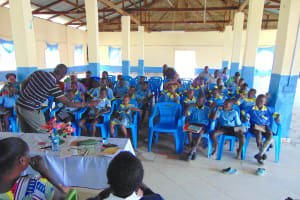 The Water Project: Hobunaka Primary School -  Full House For Training