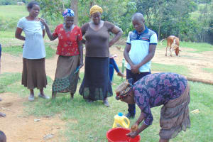 The Water Project: Emurumba Community, Makokha Spring -  Handwashing