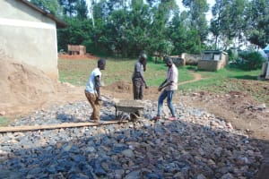 The Water Project: Bumbo Primary School -  Foundation Work