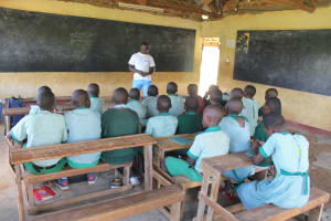 The Water Project: Bugute Lutheran Primary School -  Trainer Allan Introduces Himself