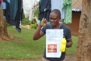 The Water Project: Imusutsu Community, Ikosangwa Spring -  Dental Hygiene Session