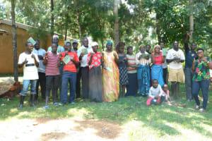The Water Project: Namarambi Community, Iddi Spring -  Training Complete