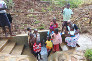 The Water Project: Musiachi Community, Mutuli Spring -  Celebrating The New Spring