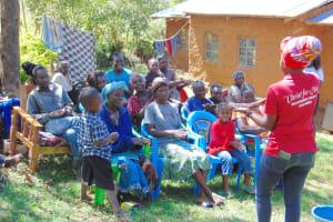 The Water Project: Mubinga Community, Mulutondo Spring -  Showing Handwashing Steps