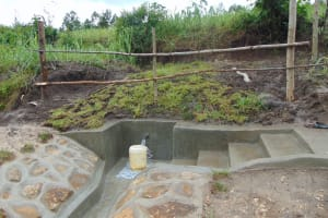 The Water Project: Bukhaywa Community, Shidero Spring -  Completed Spring