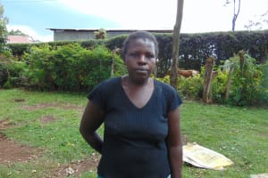 The Water Project: Imusutsu Community, Ikosangwa Spring -  Violet Nyangasi