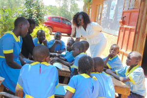 The Water Project: Hobunaka Primary School -  Trainer Laura Checks In On A Group