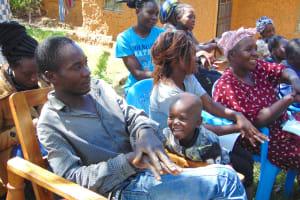 The Water Project: Mubinga Community, Mulutondo Spring -  Imitating Handwashing Steps