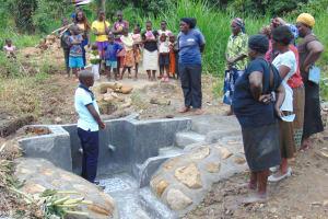The Water Project: Emurumba Community, Makokha Spring -  Site Management Training