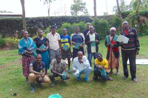 The Water Project: Imusutsu Community, Ikosangwa Spring -  Training Complete