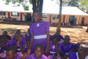The Water Project: Chiliva Primary School -  Pupil Shares An Answer