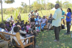 The Water Project: Kalenda A Community, Webo Simali Spring -  Community Member Shares A Response