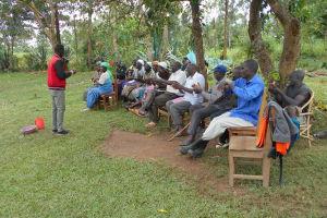 The Water Project: Kalenda B Community, Lumbasi Spring -  Ten Steps Of Handwashing