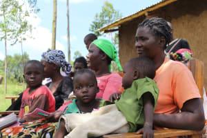 The Water Project: Tumaini Community, Ndombi Spring -  Training Participants