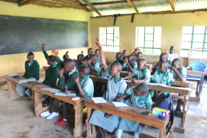 The Water Project: Bugute Lutheran Primary School -  Lots Of Participation