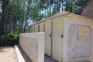 The Water Project:  Completed Vip Latrines