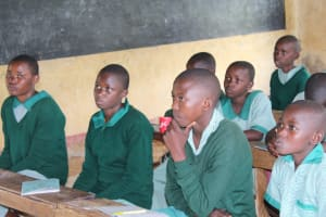 The Water Project: Bugute Lutheran Primary School -  Focused