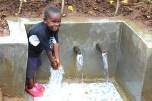 The Water Project: Namarambi Community, Iddi Spring -  Pure Joy