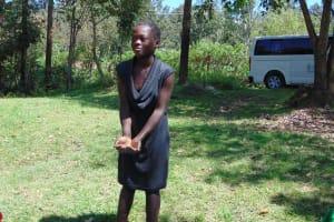 The Water Project: Mubinga Community, Mulutondo Spring -  Handwashing Practice