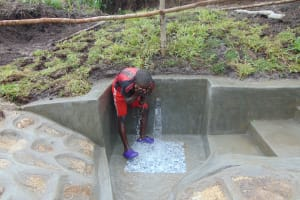 The Water Project: Bukhaywa Community, Shidero Spring -  Time To Refresh