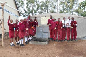 The Water Project: Friends School Ikoli Secondary -  Splash
