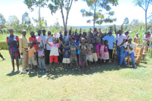 The Water Project: Kalenda A Community, Webo Simali Spring -  Training Complete