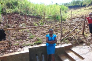 The Water Project: Musiachi Community, Mutuli Spring -  Happy Day