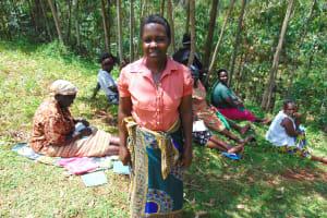The Water Project: Kitulu Community, Kiduve Spring -  Sheila Mugora